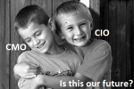 De Marketing Directeur wordt de nieuwe vriend van de IT Directeur.